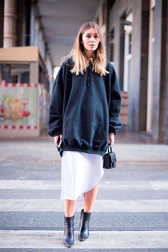 street style_sweatshirt - DIMANCHE