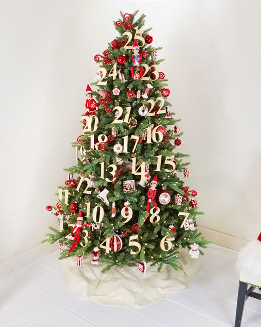 Try Our New Family Tradition The Elf On The Shelf Christmas Tree Creative Christmas Trees Elegant Christmas Trees Elegant Christmas Tree Decorations
