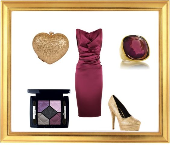 Golden Ticket, created by lakeisha-simpson on Polyvore