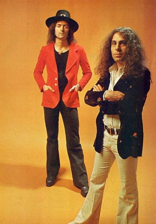 THE WIZARD, Ritchie Blackmore (left), and the late great Ronnie James Dio (R.I.P.) delivered some of the most dramatic and progressive hard rock and heavy metal of the 80's. This was the sorcery of their craft. Just CLICK THRU to experience a whole new wave of heavy metal and hard rock, and by visiting www.reverbnation.com/tedpalmer and add some granduer to your playlist!! Inset | Rainbow (Ronnie James DIO and Ritchie Blackmore) https://www.youtube.com/watch?v=rVXy1OhaERY