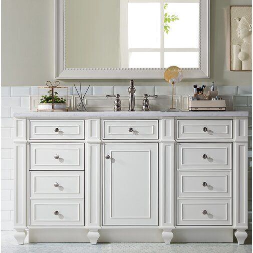 Lambrecht 60 Single Bathroom Vanity Base Only In 2021 Bathroom Vanity Base Bathroom Vanity Vanity