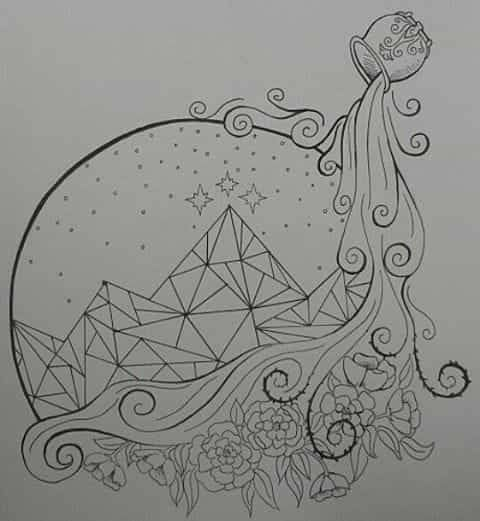 I Want To Color This Book Art A Court Of Mist And Fury Sarah