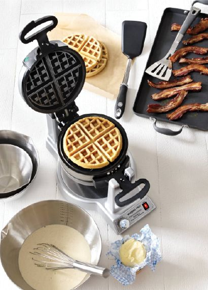 Waring Belgian waffle maker — as if we needed one more reason to love breakfast