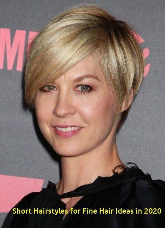 Short Hairstyles For Fine Hair Ideas In 2020 15 Chic Short Hairstyles For Thin Hair You Should Not Mi In 2020 Short Thin Hair Fine Straight Hair Haircuts For Fine Hair