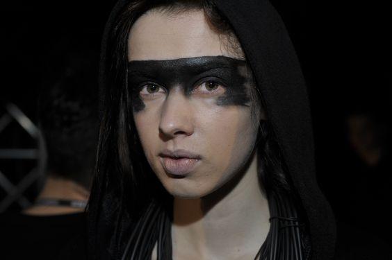 Filip Roth - makijaż do pokazu