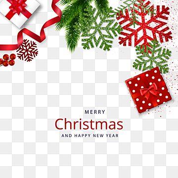 Rozhdestvenskij Ugolok S Podarochnoj Korobkoj I Sosnovoj Vetkoj Rozhdestvo Ugol Ukrashenie Png I Vektor Png Dlya Besplatnoj Zagruzki Merry Christmas And Happy New Year Christmas Christmas Tree Skirt