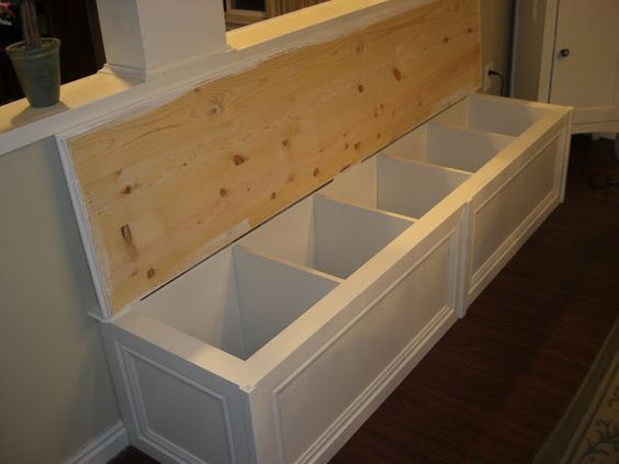The House of Normandy: Turning a Bookcase into a Banquette.  Wow this lady is inventive!