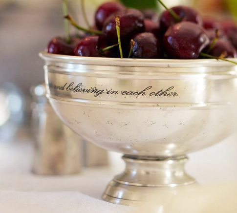 Antique-Silver Snack Bowl | Pottery Barn