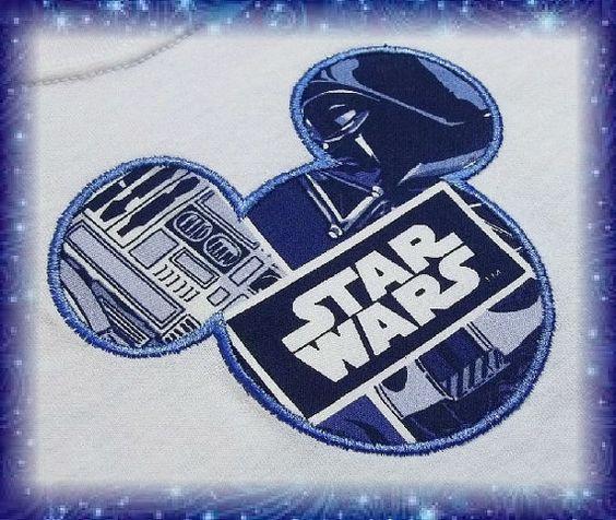 Disney Shirt  Mickey Star Wars Shirt  Darth Vader by MouseKouture1, $21.00