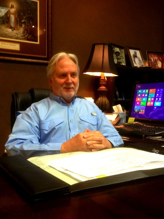 Sikes Family - Clay Sikes at offices of 'The Sikes Group.