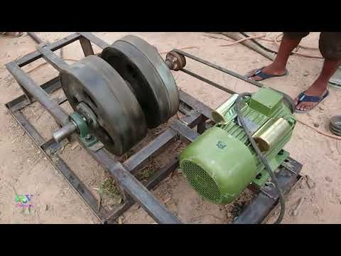 Free Energy Generator 220v Using 20kw Alternator 3 Hp Motor And 4 Flywheels Part 1 Youtube In 2020 Free Energy Generator Free Energy Free Energy Projects