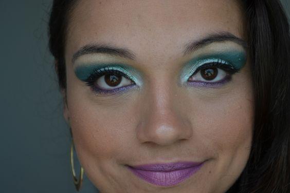 Maquiagem para o Carnaval.  www.sanamoraes.blogspot.com