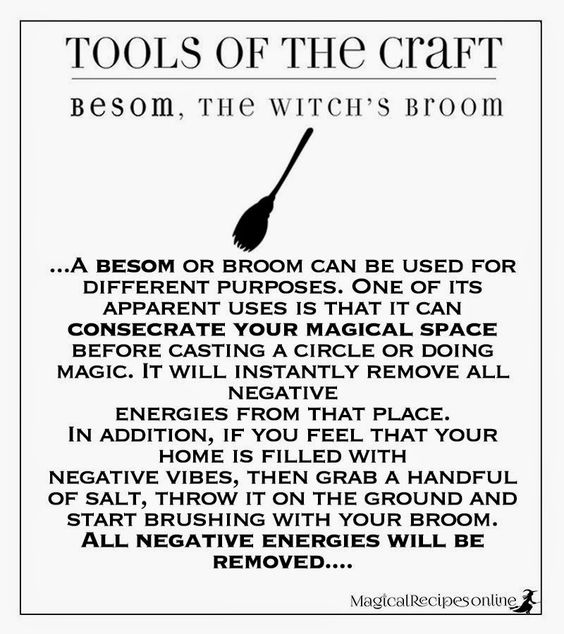 A Besom Or Broom Can Be Used For Different Purposes One