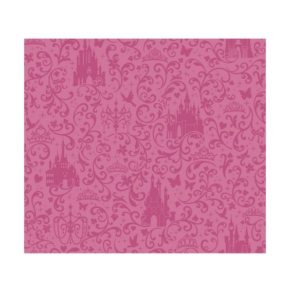 York Wallcoverings DS7612 Small Scroll with Castles Wallpaper Dark (£40) ❤ liked on Polyvore featuring home decor and wallpaper