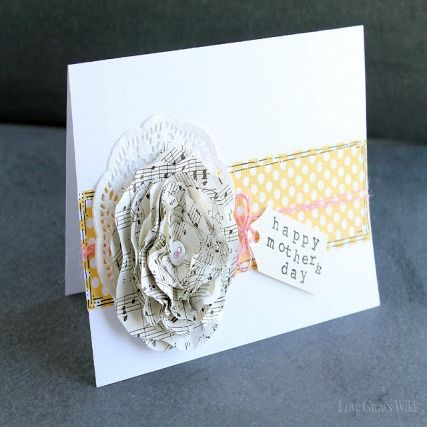 DIY: Mother's Day Card by Liz from Love Grows Wild