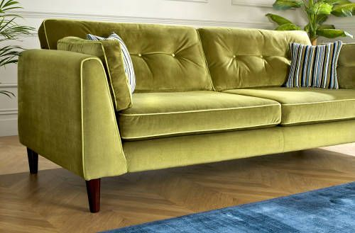 Cricket Sofology Green Living Room Decor Art Deco Room Sofa Styling