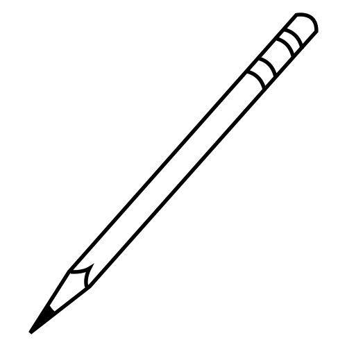 Dibujo De Un Lapicero Para Colorear Baseball Bat