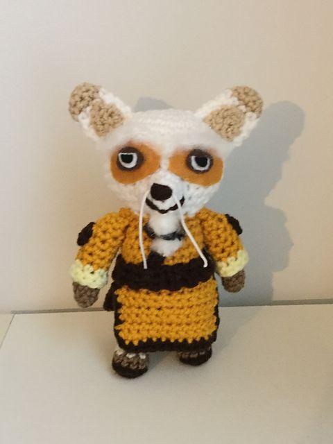Rudy red panda amigurumi pattern by Sundot Attack | Crochet animal ... | 640x480