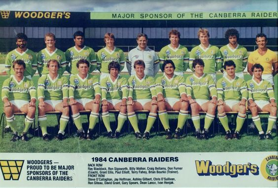 Greatest Canberra Raiders Moments 23 Raiders First Shot At The Finals 1984 Canberra Finished Equal Fifth With South In This Moment Rugby League Raiders
