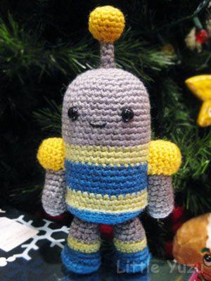 Amigurumi robot Amigurumi - aliens and monsters ...