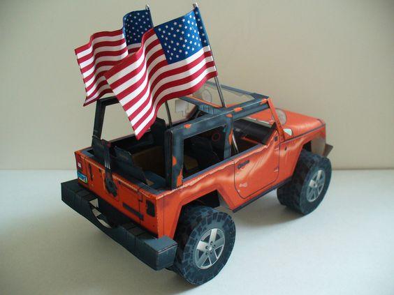 Free Model : the Stomper Jeep Rubicon http://papercruiser.com/?p=1750