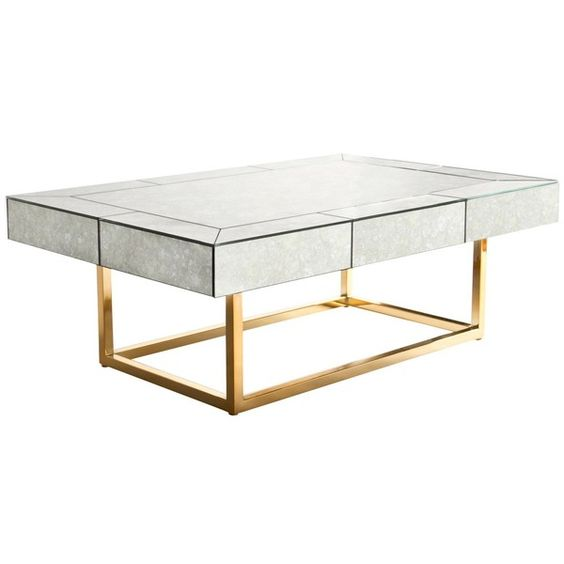 Jonathan Adler Delphine Coffee Table found on Polyvore