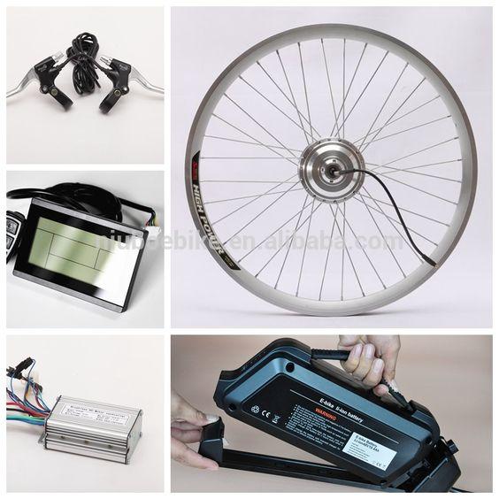 Wholesale Cheap Electric Front Wheel Bike Conversion Kit Electric