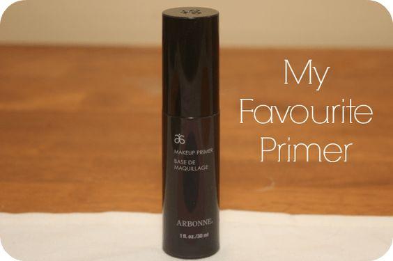 makeupmonster talks about arbonne primer