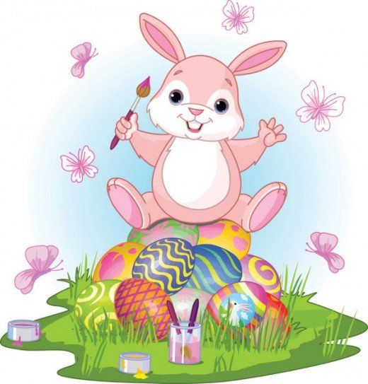 All You Need To Make Your Own Easter Cards Page Borders In 2021 Cute Easter Bunny Happy Easter Bunny Easter Wallpaper