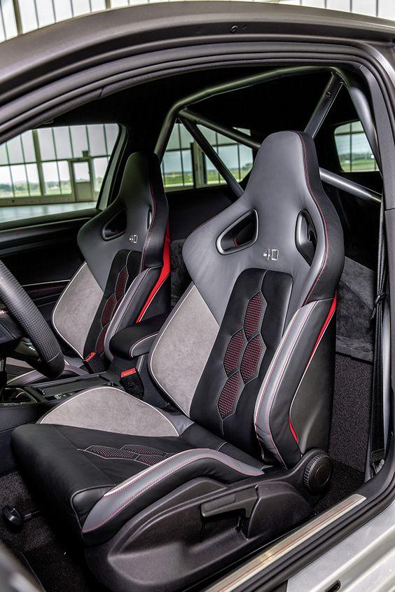 Volkswagen Apprentices Unveil 395 Hp Golf At Worthersee Vwvortex Volkswagen Custom Car Interior Automotive Upholstery