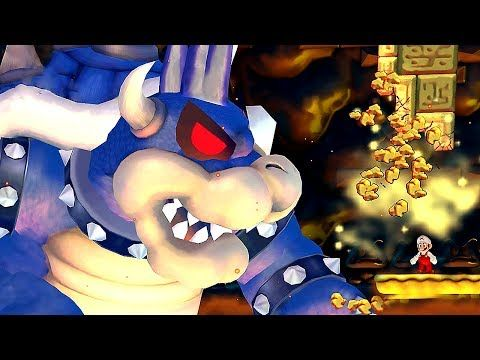 New Super Mario Wii Final Boss Evil Dark Bowser Ending Mario Vs Super Dark Bowser Youtube Bowser Mario Wii Super Dark