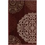 Orian Rugs Aston Dark Red 1 ft. 11 in. x 3 ft. 3 in. Accent Rug - 272680 - The Home Depot