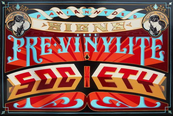 PVS - Vintage Typography - Lettering