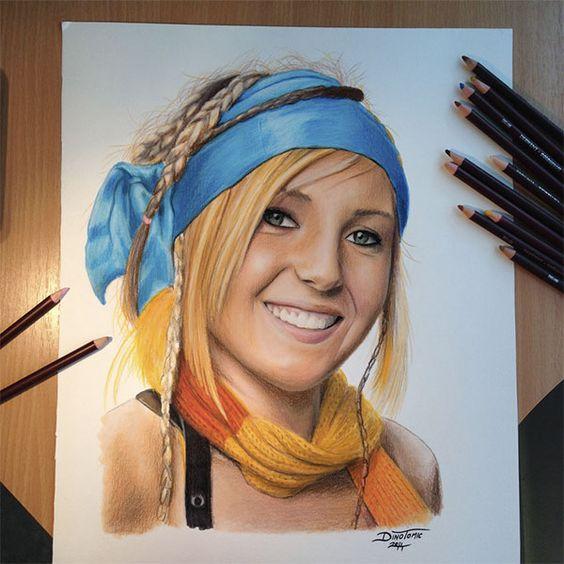 The amazing pencil drawings by Dino Tomic - Blog of Francesco Mugnai