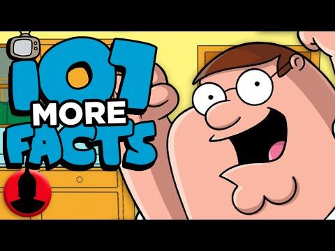 107 Family Guy Facts Everyone Should Know Part 2 Channel Frederator Youtube In 2020 Facts About Guys Family Guy Episodes Cartoons Youtube