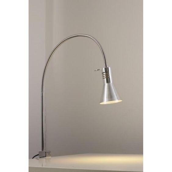 Honsel Cleveland Lampada da tavolo Acciaio inox, Alluminio 93531-DO1: