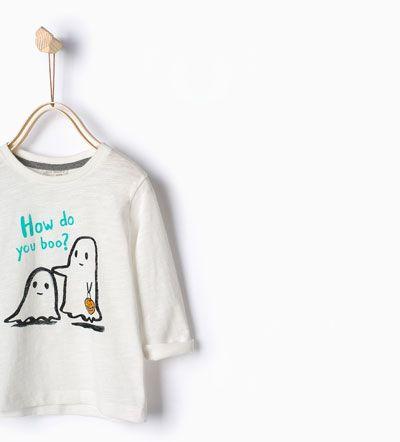 T-shirt fantasmas
