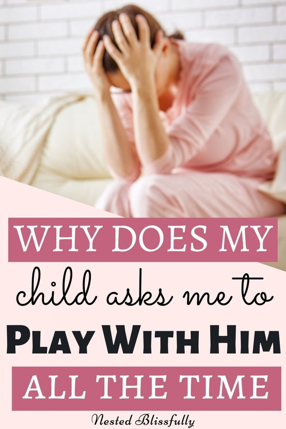 What to do when you feel -- I don't want to play with my child. — Nested Blissfully