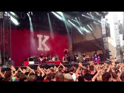 ▶ Kraftklub - Songs für Liam - Ärztival 17.08.2013 in Uelzen - YouTube