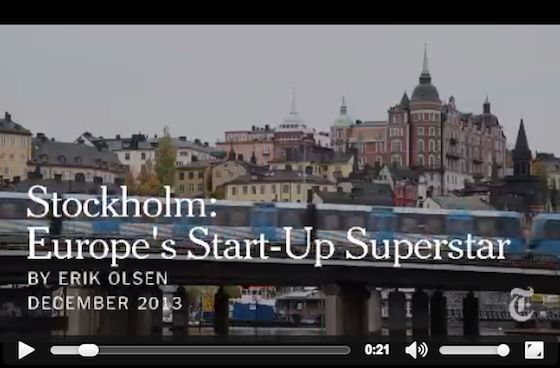 Stockholm: Jante culture of knowledge sharing creates startup superstars