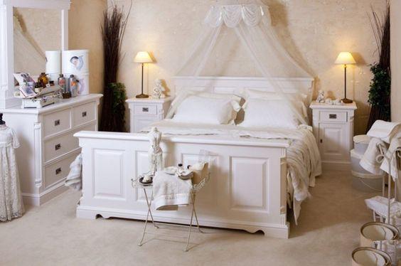 Voor liefhebbers van romantiek: Compleet romantisch slaapkamer ...