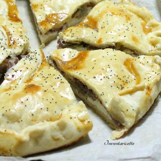 Torta salata con pancetta