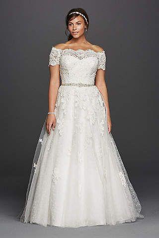 Plus Size Wedding Dresses U0026 Bridal Gowns | Davidu0027s Bridal | Wedding Ill  Never Have | Pinterest | Bridal Gowns, Wedding Dress And Gowns