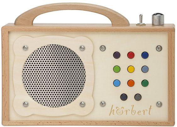 MP3-Player für Kinder: hörbert - aus Holz! EUR 239,00
