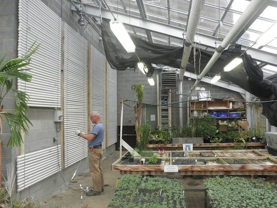 Using Pcms In A Greenhouse Better Than A Wall Of Simple