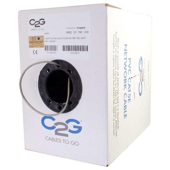 C2G Cat.5e UTP Network Cable, #56004