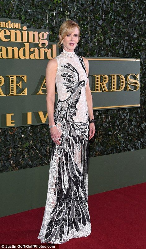 Nicole Kidman beat tough competition to walk away with the best actress award and arguably the best outfit