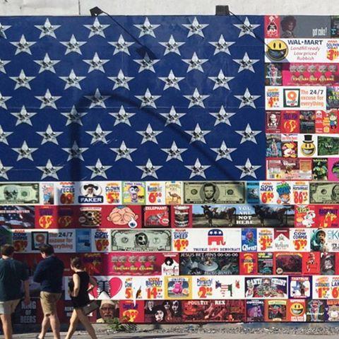 @ronenglishart in #NYC #graffitiwall #houstonst