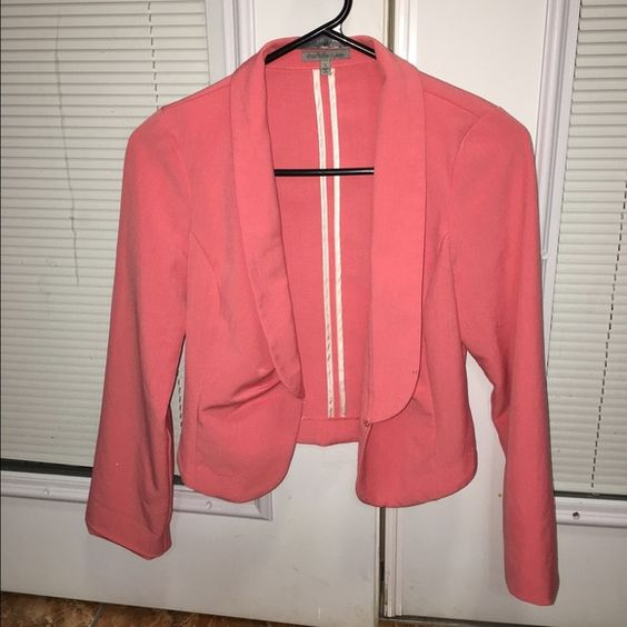 Light Pink blazer/jacket Light Pink blazer/jacket. Perfect conditions Charlotte Russe Jackets & Coats Blazers