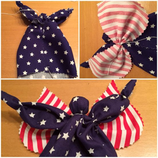 Send me an angel,… – oder – Meine Engel tragen Stars and Stripes | Lilamalerie.de